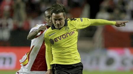 Mario Götze fortsetter å imponere for Dortmund (Foto: Angel Fernandez/Ap)
