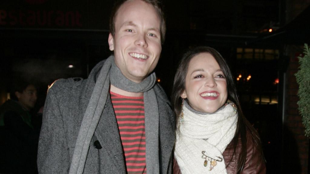 FORELDRE: Anders Bye og Siri Nilsen venter nå sitt første barn.