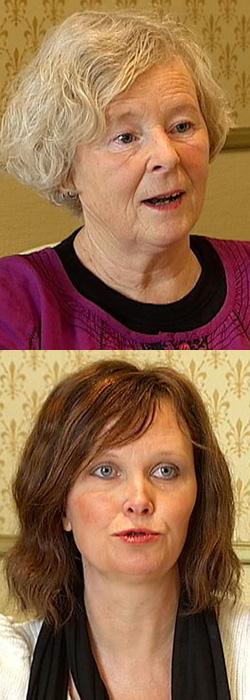 FIKK IKKE HJELP: TMD-pasientene Unni Wenche Lindberg (øverst) og Monica Ottesen Roskifte. (Foto: TV 2)