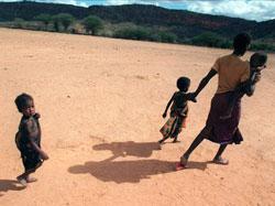 Tørke i Etiopia jagde hundretusenvis på flukt i 2000.