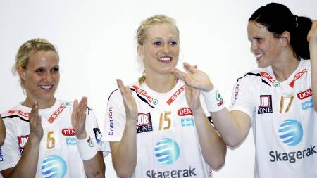 Tine Rustad Kristiansen, Linn Jørum Sulland og Tine Stange (Foto: Lien, Kyrre/Scanpix)