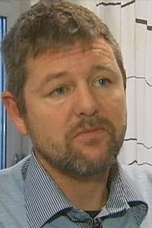 Leder for den nasjonale støttegruppen etter 22. juli hendelsene, Trond Henry Blattmann.  (Foto: TV 2)