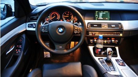 Ikke mange lager flottere interiør enn det du finner i BMW 5-serie ...