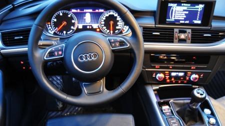... Men Audi gjør nettopp det! Klassens mest elegante og stilige interiør går til A6.