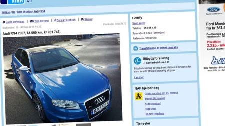 Audi-RS4-annonse
