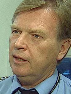 BER NÆRINGEN SIKRE SEG: Kjell Kristian Ukkelberg, påtaleansvarlig i Hedmark politidistrikt. (Foto: TV 2)