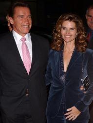 Sannheten kom frem om utroskapen til Arnold, her med kona 'Maria. (Foto: Lionel Hahn/ABACA, ©TS)