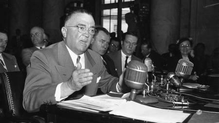 LEGENDE: J. Edgar Hoover var sentral i oppbyggingen av FBI.   (Foto: AP Photo/AP)