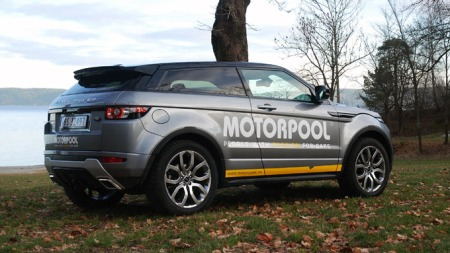 Range Rover Evoque har vist seg å være en redning for Land Rover i Norge. Med 478 solgte så langt i 2012 står den for en stor del av det totale salget for det tradisjonelle, britiske merket. (Foto: Benny Christensen)