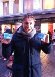 Reidar Buskenes blir ny programleder i God morgen Norge fra 2. januar. Han møtte opp for å få sin del av smørkaka.