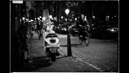 Bildet gjort om til sort-hvitt. Alltid en spennende mulighet, mener fotografen.  (Foto: Stian Schioldborg)