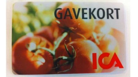 Ukens premie: Gavekort fra ICA med verdi 5000 kr.