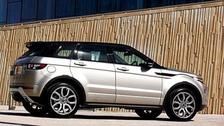 Noen tøffere? Range Rover Evoque flytter grensene på design i sin klasse. Og snart får den følge av flere utgaver.