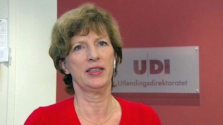 EUROPA: Ida Børresen, direktør i UDI, vil innføre regler i Norge som er mer i tråd med resten av Europa.  (Foto: TV 2)