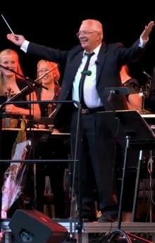 Bjørn fikk dirigere selveste Kringkastingsorkesteret.
