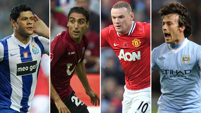 Hulk (Porto) og Moa (Hannover) kan blant andre møte Wayne Rooney (Manchester United) eller David Silva (Manchester City) i Europaligaen.