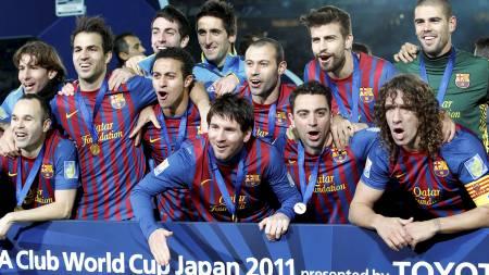 Barcelona har vunnet VM for klubblag. (Foto: Koji Sasahara/Ap)