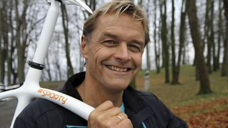 Dag Otto Lauritzen Sporty-sykkel (Foto: Nina Kausland/)