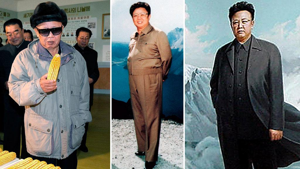 MANNEN OG MYTENE: Kim Jong-ils liv er omspunnet av glorifisering og myter. Mange av mytene er rett og slett for fantastiske til å være sanne.  (Foto: Reuters / Afp)