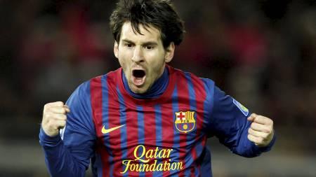 Lionel Messi scoret to ganger da Barcelona vant VM for klubblag. (Foto: Toru Hanai/Reuters)