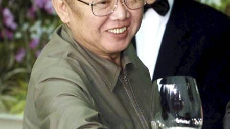 GLAD I VIN: Diktatoren skal ha hatt en spesiell forkjærlighet for fransk vin. (Foto: SCANPIX SWEDEN/Reuters)
