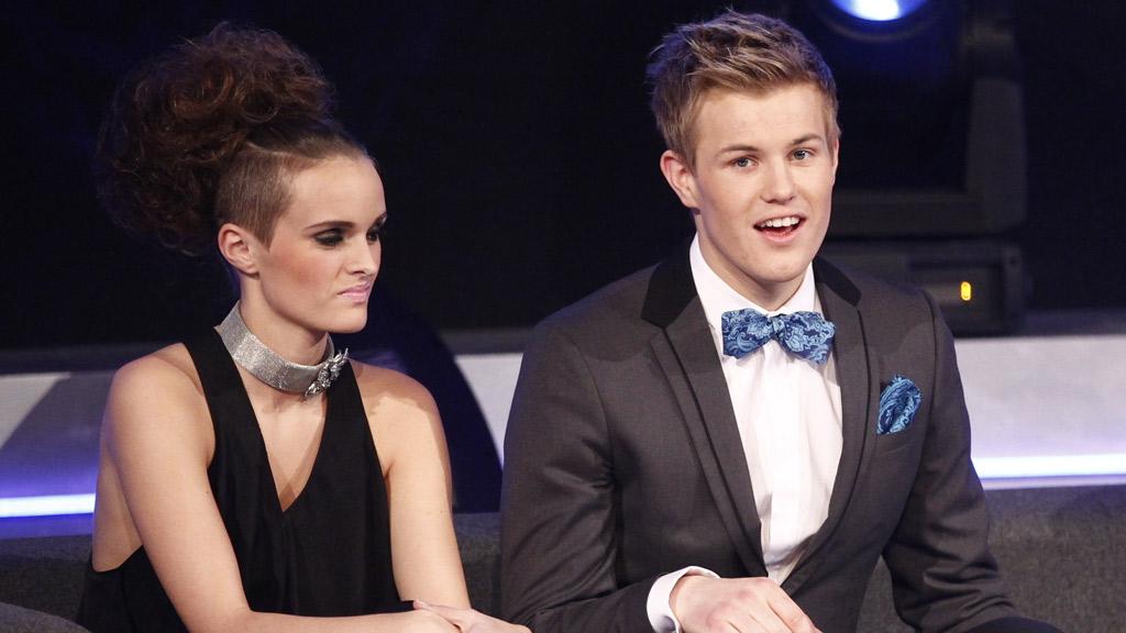 FINALISTER: Jenny Langlo og Vegard Leite står mot hverandre i årets finale av «Idol» 2011.