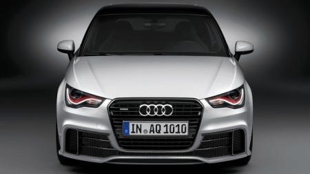 Her er ansiktet til en av Audis mest eksklusive småbiler - nemlig A1 quattro.