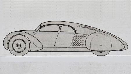 Hadde denne bilen blitt satt i produksjon ville den ikke lignet på noe annet som fantes på veiene før andre verdenskrig - og kanskje ville den ført til at hensynet til aerodynamikk ville kommet tidligere i fokus enn det gjorde.