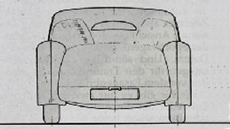 Nøyaktig hva som førte til at prosjektet ble lagt i skuffen vet åpenbart ingen, men Auto Union utnyttet ikke sine racing-bragder i årene 1935 til 1937 til å selge denne gatetilpassede racerbilen. Og så kom plutselig krigen...