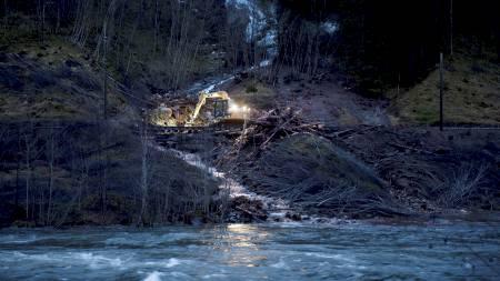 Evanger, voss, ras, bergensbanen (Foto: Hommedal, Marit/Scanpix)