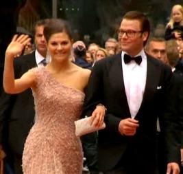 GRAVIDE: Kronprinsesse Victoria og Daniel.