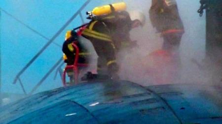 Murmansk brannmannskap (Foto: AP)