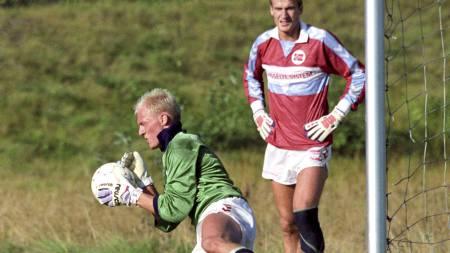 Einar Rossbach og Erik Thorstvedt (Foto: Holm, Morten/Scanpix)