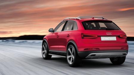 Eksosanlegget og de unike railsene er også særtrekk i konseptbilen til Audi.