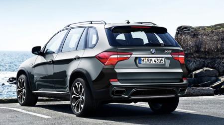 Denne illustrasjonen har versert på diverse forum - og skal visstnok vise hvilken retning nye BMW X5 vil gå.