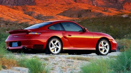Illustrasjonsbilde. 2002, Porsche 911 turbo