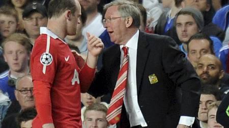 FIKK BOT: Wayne Rooney ble bøtelagt av Ferguson i romjulen. (Foto: CARL DE SOUZA/Afp)