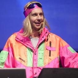 ENESTE BEKREFTEDE ARTIST TIL SPEKTRUM: DJ Dan aka Morten Ramm fra «Torsdagkveld fra Nydalen».   (Foto: Roger Fosaas)