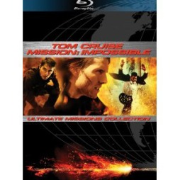 Mission Impossible Trilogy (Blu-ray)