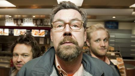 Nattskiftet: John Brungot, Otto Jespersen, Mats Eldøen.