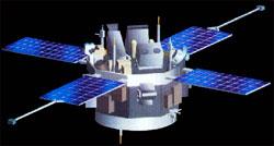 ACE-satellitten ble skutt opp i 1998. (Foto: NASA)