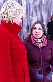 VIL SPRÅKTESTE: Kunnskapsminister Kristin Halvorsen liker ideen fra sin britiske kollega om tidlig språktesting av barn. (Foto: TV 2)