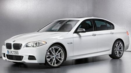 BMW M550d.