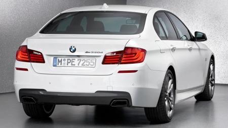 BMW M550d sedan bakfra