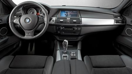 BMW x6 M50d interiør
