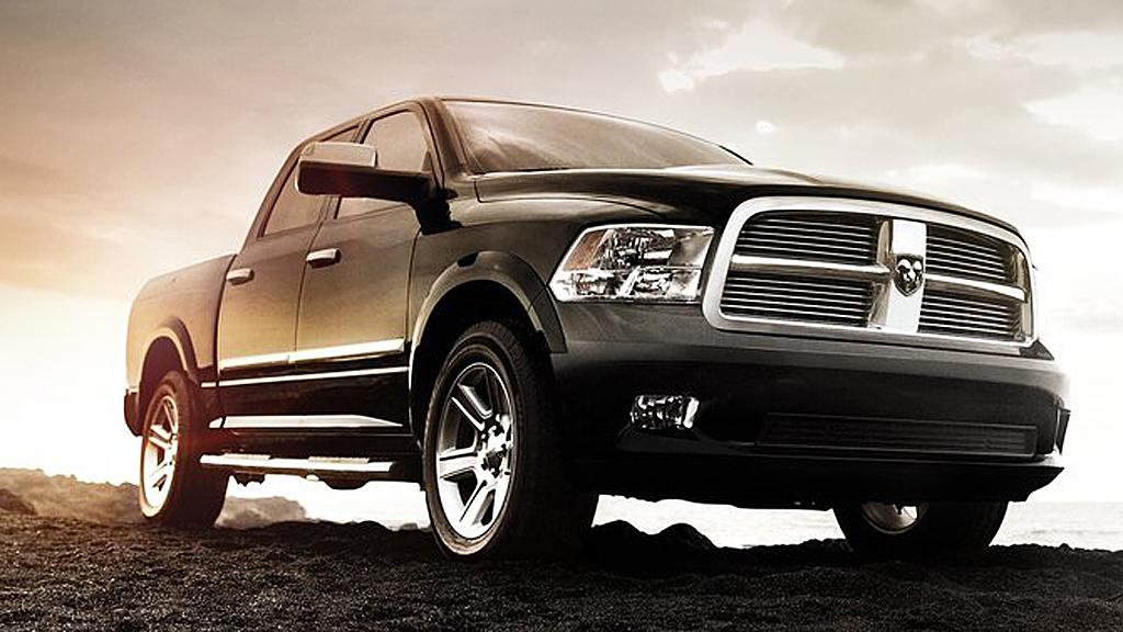 Dodge Ram opplever en solid salgsøkning hjemme i USA, dette er Ram Laramie Limited.