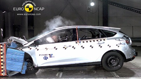 Ford-Fucus-krasj (Foto: EURO NCAP)