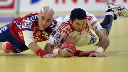 Ivan Nikcevic og Blazenko Lackovic (Foto: ANDREJ ISAKOVIC/Afp)
