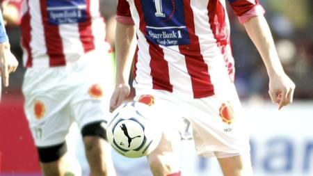 TILBAKE I TROMSØ: Ole Martin Årst er igjen én av «gutan». Spissen har tidligere spilt for Tromsø mellom 1995-1997 og 2003-2007, (Foto: Rakke, Morten/SCANPIX)