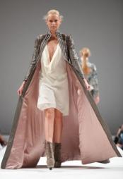 CATWALK: Fra Cocoon-visningen under fjorårets Oslo Fashion Week.